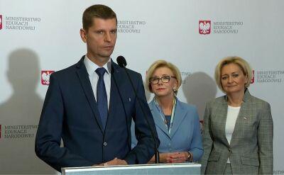 Piontkowski: nie ma obaw, aby ktoś nie mógł kontynuować edukacji na kolejnym etapie