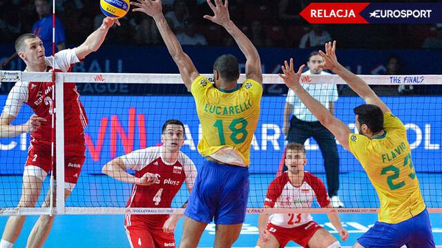 Polska - Brazylia w meczu o 3. miejsce w Lidze Narodów [RELACJA]