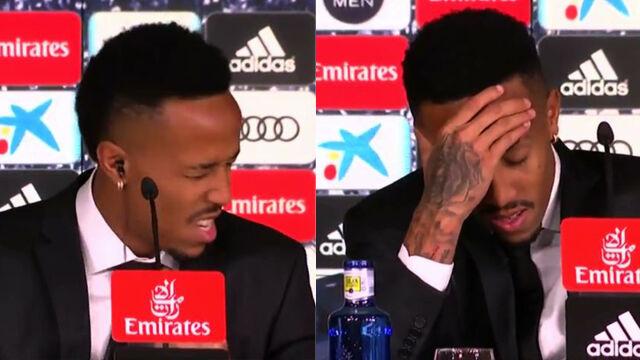 Miał zawroty głowy, przerwał konferencję. Trudne początki nowego piłkarza Realu