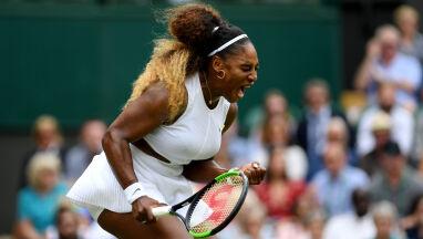 Serena Williams w półfinale Wimbledonu.