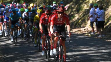 Peleton Tour de France wjechał w góry.