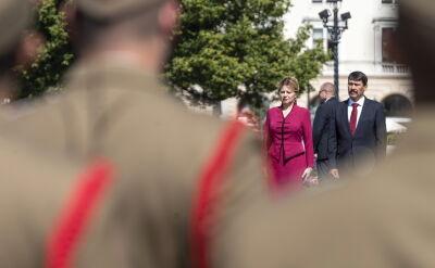 Prezydent Słowacji zwróciła się z apelem do krajów Grupy Wyszehradzkiej