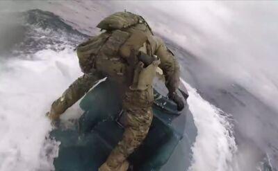 Efektowna akcja amerykańskiej straży przybrzeżnej