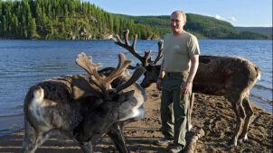 Putin i Berlusconi spędzili męski weekend na Syberii