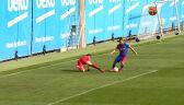 Sergio Aguero strzelił pierwszego gola w barwach Barcelony