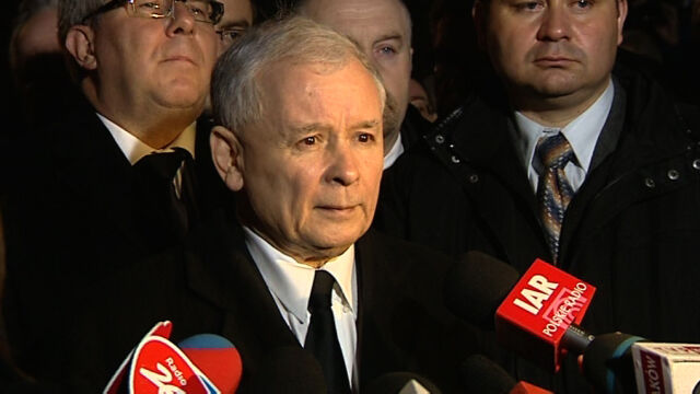 Kaczyński: dziwi, że premiera nie ma na obchodach