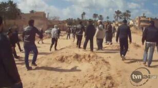 Protesty w Trypolisie (Reuters)
