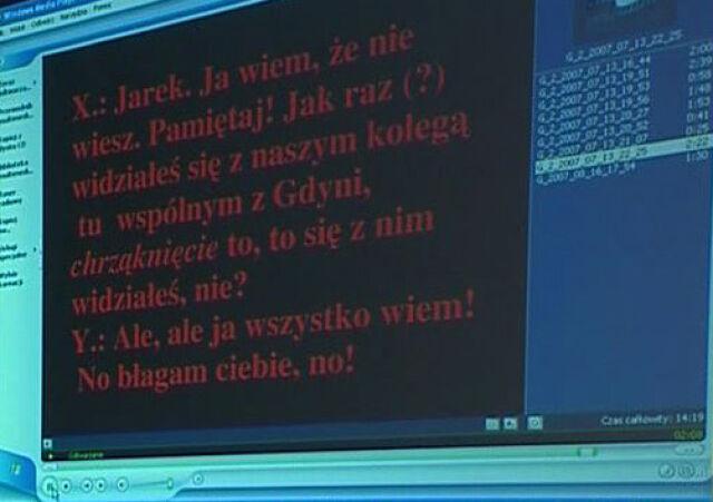 O czym rozmawiali Kaczmarek, Netzel i Kornatowski