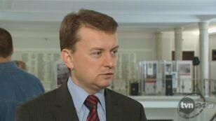 Mariusz Błaszczak nie wie, kogo miał na myśli Zbigniew Ziobro