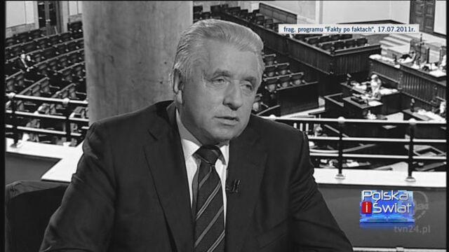 Andrzej Lepper i jego partia (TVN24)