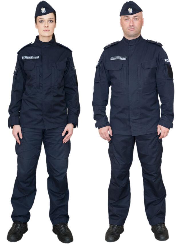 6a3147597e Źródło  MSWiA Nowe mundury ćwiczebne policjantów będą się różnić od  dotychczasowych kolorem i krojem
