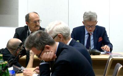 Komisja Sprawiedliwości opiniowała wniosek wobec Ziobry