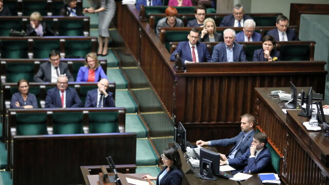 Gasiuk-Pihowicz: stworzyliście system, w którym ludzie PiS tworzą kastę stojącą ponad prawem