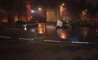 Władze Gdańska o akcie przewrócenia pomnika