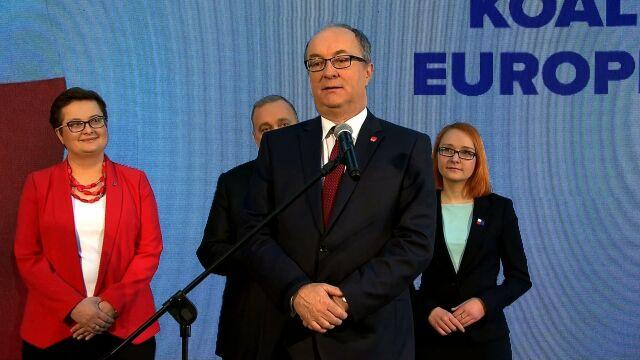 Włodzimierz Czarzasty: gwarantem Unii Europejskiej i Polski jest obecność Polski w tej Unii