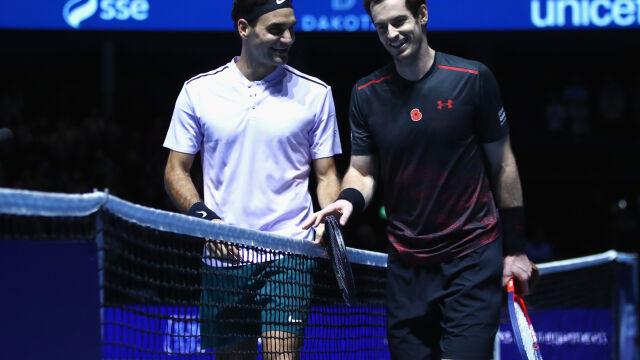 Tenisowe wyzwanie państwa Murrayów. Federer z żoną nominowani