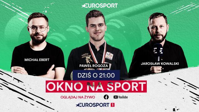 """Wicemistrz Europy w snookerze gościem """"Okna na sport"""" o 21"""