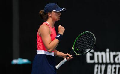 Iga Świątek o rywalizacji z czołówką światowego rankingu WTA