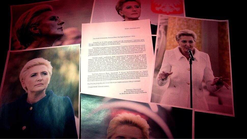 """""""Wyraz bezsilności"""". List do pierwszej damy, odpowiedź kancelarii prezydenta"""