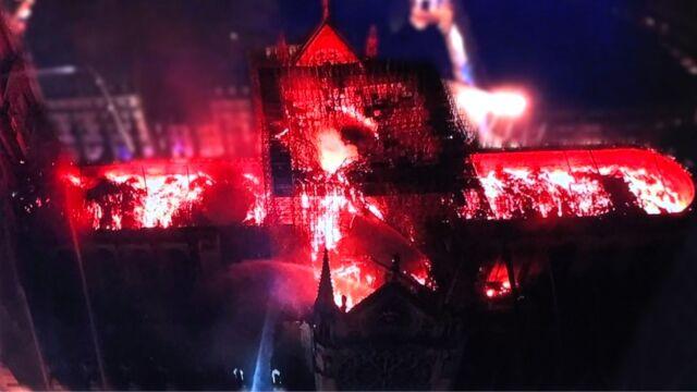 Walka z ogniem o Notre Dame