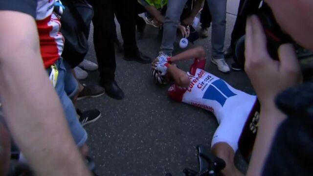 Niesamowity finisz Amstel Gold Race. Kwiatkowski blisko sukcesu