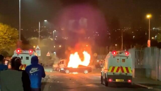 Chaos na ulicach Irlandii Północnej, nie żyje dziennikarka