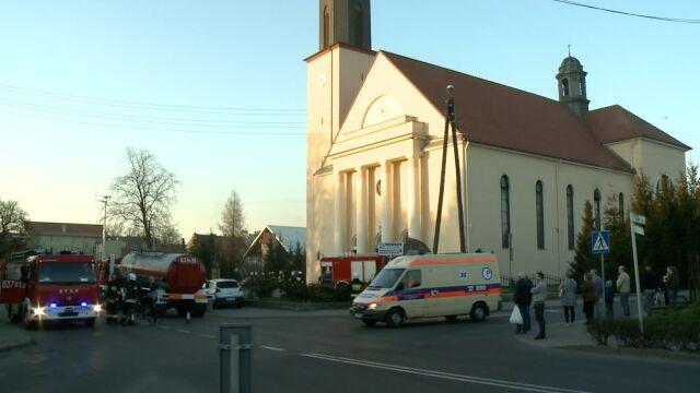 """Ogień w kościele w Wielkopolsce. """"Najprawdopodobniej doszło do pożaru organów"""""""
