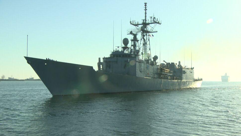Sześć okrętów NATO wpłynęło do portu w Gdyni