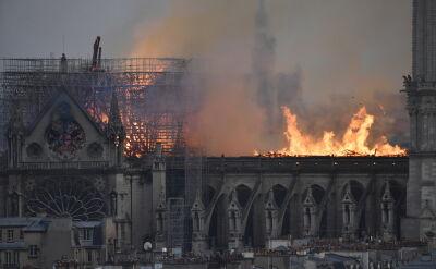 Historyk sztuki o pożarze w Notre Dame: będzie to duży problem konserwatorski