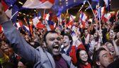 Wybuch euforii w sztabie Macrona