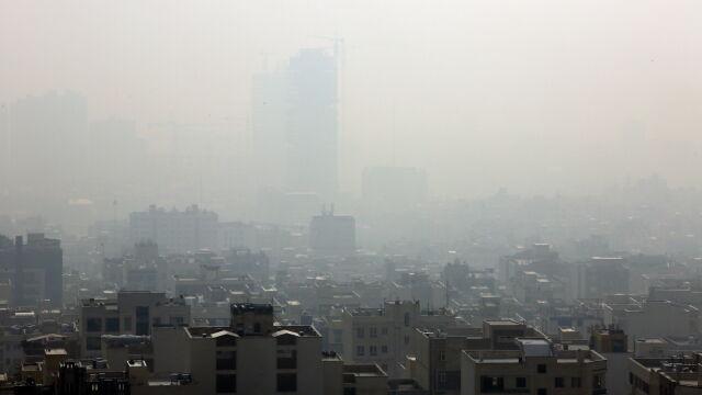 Potężny smog w Teheranie.