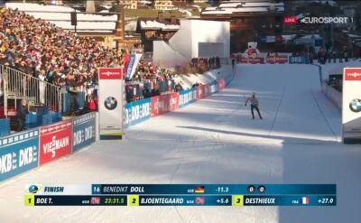 Doll wygrał sprint w Le Grand Bornand