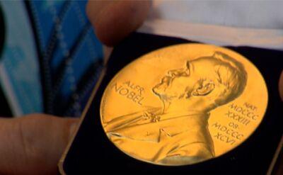 Olga Tokarczuk przekazała replikę medalu noblowskiego na WOŚP