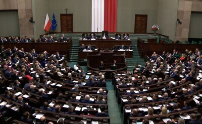 Sejm przyjął uchwałę z okazji otrzymania przez Olgę Tokarczuk Nagrody Nobla