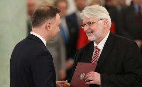 Witold Waszczykowski powołany na ministra spraw zagranicznych
