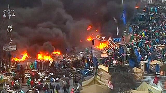 Reporter TVN24: Noc na Majdanie minęła spokojnie