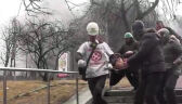 Krew i ogień na ulicach Kijowa. Liczba ofiar przekroczyła 70