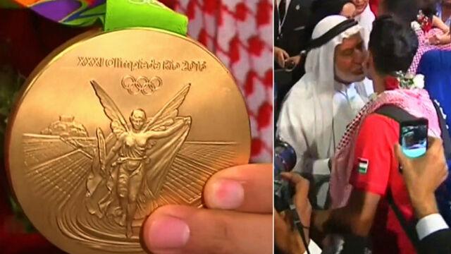 Ahmad Abughaush zdobyłpierwszy medal dla Jordanii