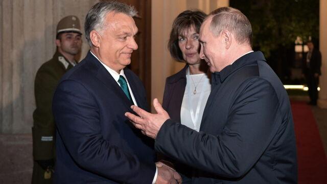Ósme spotkanie Orbana z Putinem  w ciągu sześciu lat.
