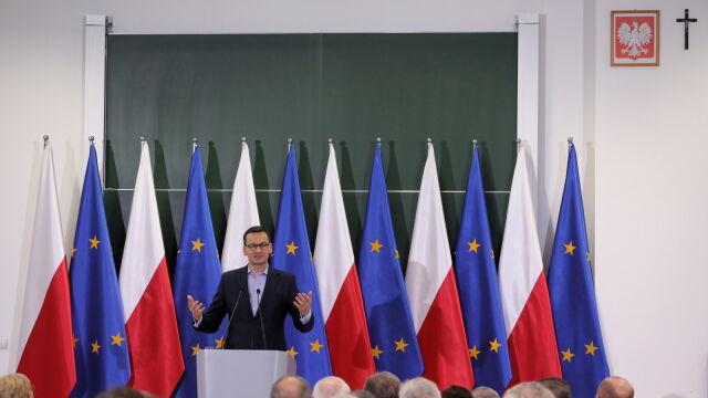 Morawiecki o zrównaniu dopłat dla rolników: mamy poważne atuty w ręku