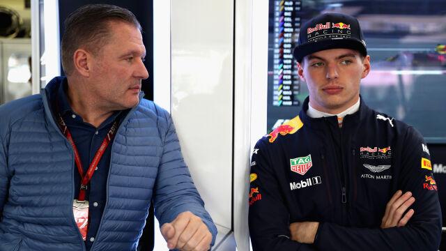 """Ojciec pouczył Maksa Verstappena. """"Nie powinien nic mówić"""""""
