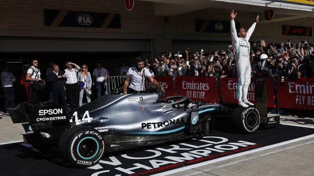 Mistrz Lewis Hamilton. Zrobił to szósty raz