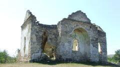 Ruiny starej cerkwi w Raszkowie na północy Naddniestrza. Podobno właśnie tutaj brał ślub z mołdawską księżniczką Roksaną, Timofiej, syn Bohdana Chmielickiego