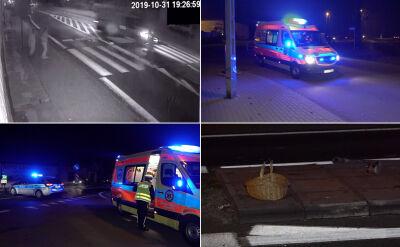 Borówno. 11-letnia dziewczynka potrącona przez bus