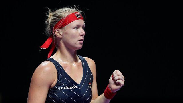 WTA Finals. Wygrane trzysetówki Bertens i Bencic