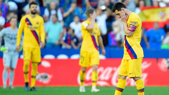 Koszmarny występ Barcelony. Traciła gola za golem
