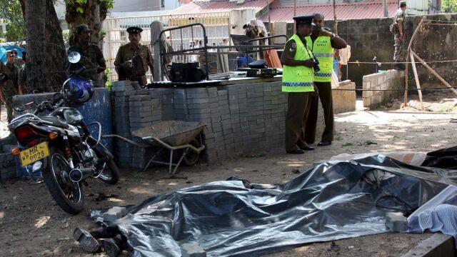 Pięć ofiar samobójczego zamachu