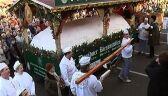 To chyba największe świąteczne ciasto na świecie