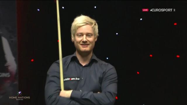 Fatalny błąd Robertsona w 10. frejmie półfinału English Open