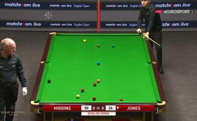 Jones potrzebował aż czterech prób, aby wyjść z trudnej sytuacji